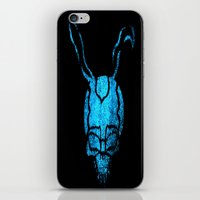 donnie darko iPhone & iPod Skins featuring Donnie Darko blue by Dead City