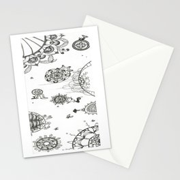Travel Through Stationery Cards