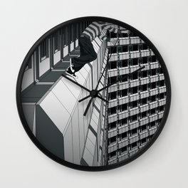 No Second Chance Wall Clock