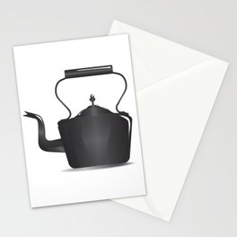 Victorian Black Kettle Stationery Cards