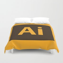 Adobe Illustrator Icon Duvet Cover
