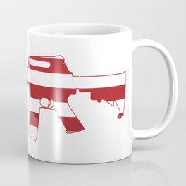 AR-15 Stars & Stripes Rifle Coffee Mug