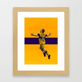Juan Roman Riquelme - Boca Juniors Framed Art Print