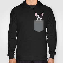 Parker - French Bulldog animal art modern colors for dog people Hoody