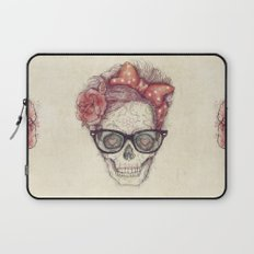 Hipster Girl is Dead Laptop Sleeve