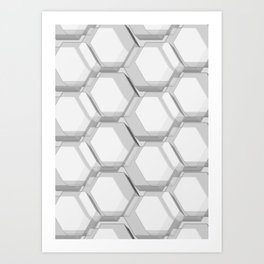 easy chaos Art Print