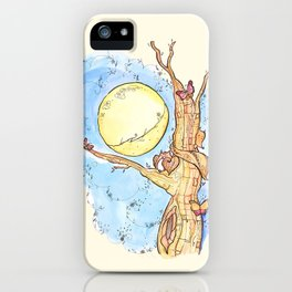Full Moon Life iPhone Case