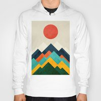 outdoor Hoodies featuring The hills are alive by Picomodi