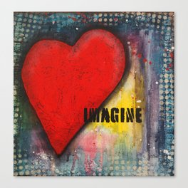 Heart Art Canvas Print