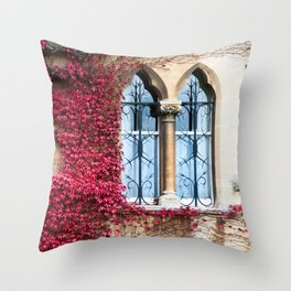 Creeping Vine Throw Pillow