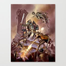 The Undead Strike Canvas Print