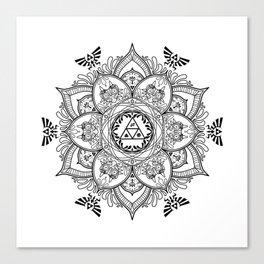 Zelda Mandala Canvas Print