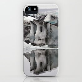 Ashy Glaciers. iPhone Case