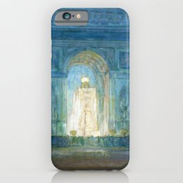African American Masterpiece 'Washington Square Arch' Greenwich Village, NYC by Henry Ossawa Tanner iPhone Case