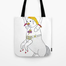 On the unusually popular full man half centaur Intercontinental champ. Tote Bag