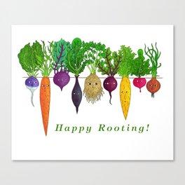 Happy Rooting! Canvas Print