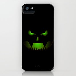 Scary Halloween Pumpkin product Gift For Halloween Party iPhone Case