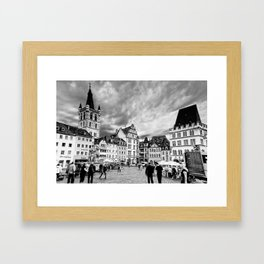 Trier, Oldest City in Germany. Framed Art Print