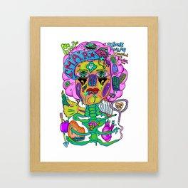 Repulsive Minds Framed Art Print