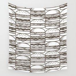 Burgers Wall Wall Tapestry