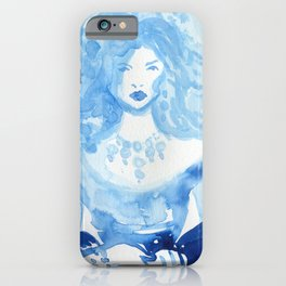 Kate as Marie Antoinette iPhone Case