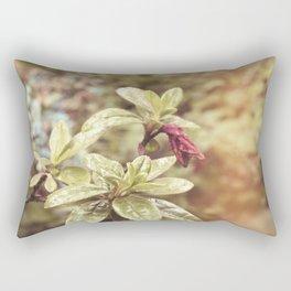 Retro Botanical 1 Rectangular Pillow