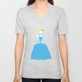 Cinderella Disney Princess Unisex V-Neck