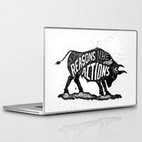 lettering Laptop & iPad Skins featuring Lettering by Iriskana