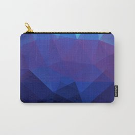 Blue abstract background Carry-All Pouch