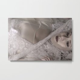 Pale Creature Metal Print