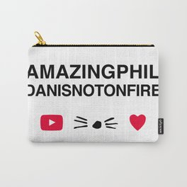 Amazingphil and danisnotonfire Carry-All Pouch