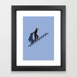 How's it going to end ? Framed Art Print