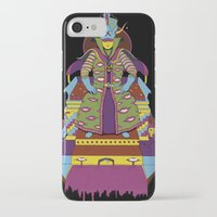 wizard iPhone & iPod Cases featuring Wizard by Samuel Bell