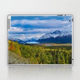 Matanuska Glacier, Alaska - Autumn Laptop & iPad Skin