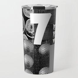 GREY #THE 7 Travel Mug