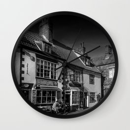 Cobbled Cafe Wall Clock
