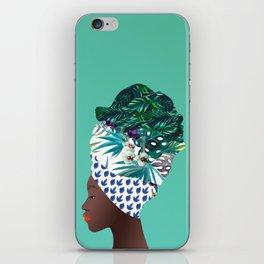 Tofo, Mozambique Capulana Lady iPhone Skin
