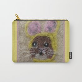 Bunny in a bonnet Carry-All Pouch