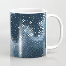 Grey Rift Galaxy (8bit) Coffee Mug