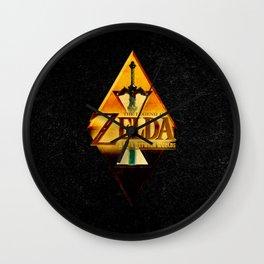THE LEGEND of ZELDA-Link Wall Clock