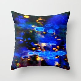 We Only Come Out at Night Throw Pillow