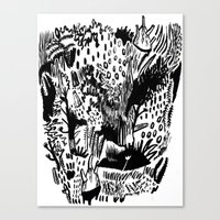 plants Canvas Prints featuring Plants by Bridie Cheeseman