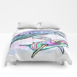 Humpback and Minke Whale Comforters