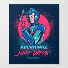 Mecha Dragon Canvas Print