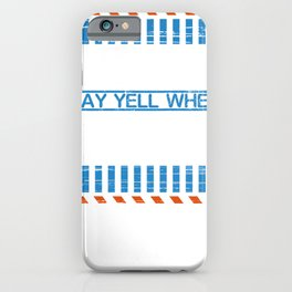 Gambler Gift May Yell When Gambling Funny Gambling Gift Idea iPhone Case