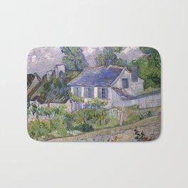 Vincent Van Gogh - Houses at Auvers Bath Mat
