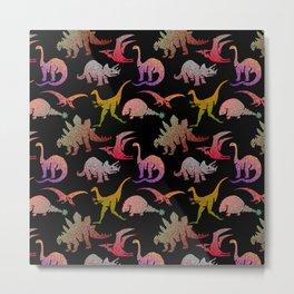 Happy Dinosaurs Metal Print