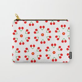 Cherry Blossoms Pattern Carry-All Pouch
