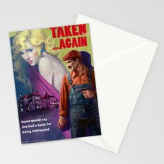 Taken . . . Again Stationery Cards