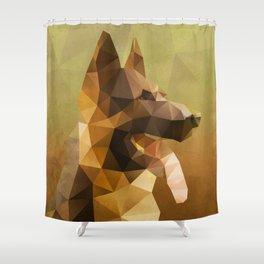 The German Shepherd Shower Curtain